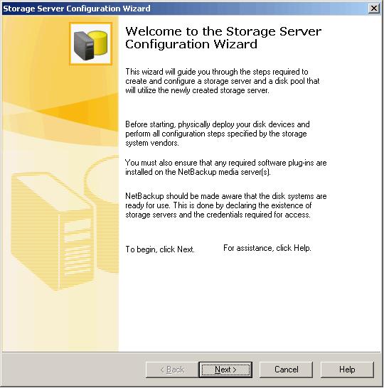 netbackup media server active for disk only