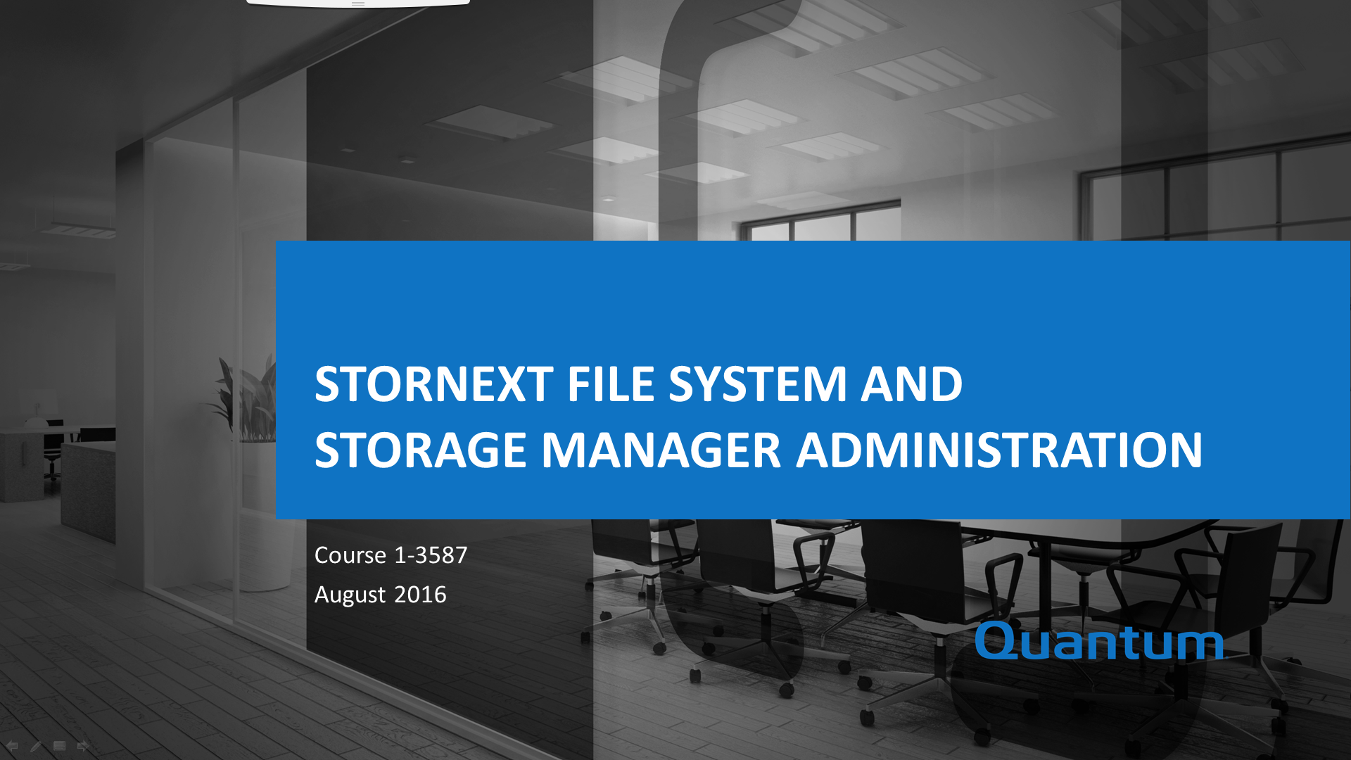 The Tasks Include Configuring Stornext Defining Storage Policies Using Tools And Commands Managing Files Performing Library Media Operations