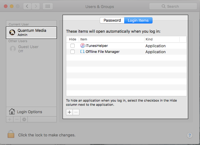 Offline File Manager (for Apple macOS)
