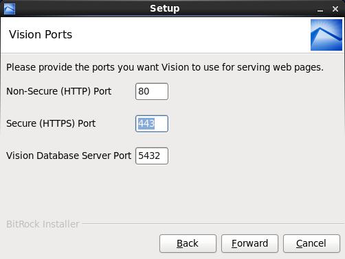Install Vision onto a Linux-Based Server