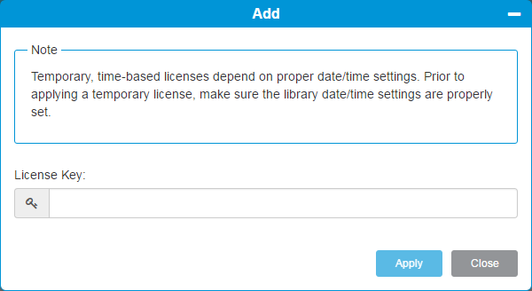 Scalar i3 Licenses